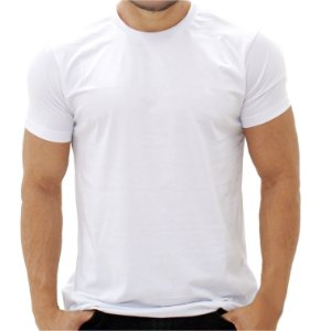 Camiseta Minimalista Branca - Masculina