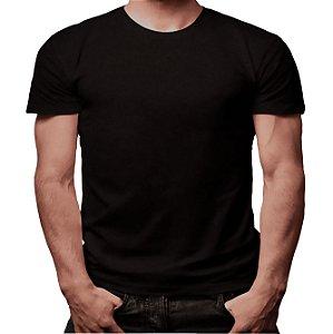 Camiseta Minimalista Preta - Masculina