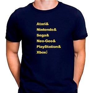 Camiseta Gerações de Gamers Azul.M - Masculina