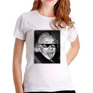 T-Shirt Einstein Zueiro - Feminina