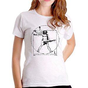 T-Shirt Rockeiro Vitruviano - Feminina