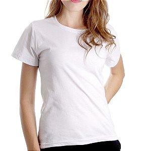 T-Shirt Minimalista Branca - Feminina