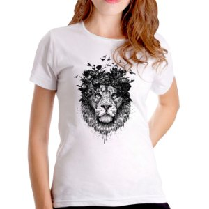 T-Shirt Natureza Real - Feminina
