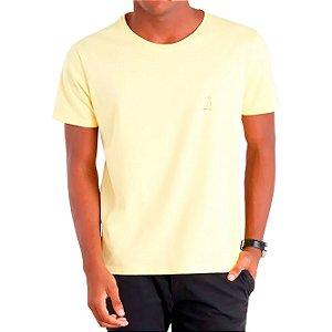 Camiseta Nova Básica Amarela - Masculina