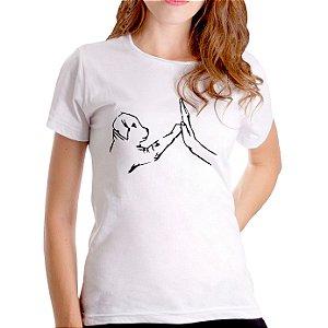 T-Shirt Amizade - Feminina - PT+BR