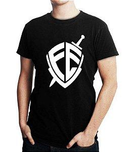 Camiseta Gospel Masculina Fé André Valadão Moda Evangélica Jovem