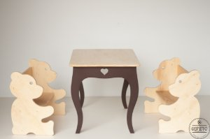 Conjunto Mesa e Cadeiras infantil