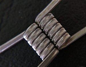 Alien Clapton Ni80 28*3/36 3mm id 6 voltas 0,17ohms Dual