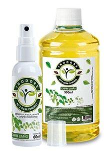 Inodore Capim-Limão 60ml + Refil Capim-Limão 500ml