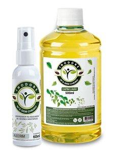 Inodore Alecrim 60ml + Refil Capim-Limão 500ml