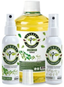 Inodore Misto 60ml  2 unidades + Refil Capim-Limão 500ml