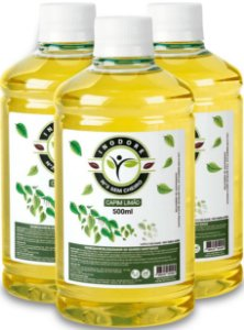 Kit Refil Inodore Capim-Limão 500ml - 3 Unidades