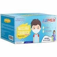 Mascara Desc. Cirurgica Infantil Luimed Cx. C/50 unids