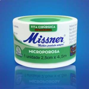 MICROPORE MISSNER 25X10 C/CAPA