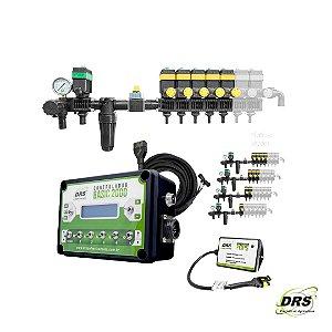 Kit Controlador de Vazão com Sensor de Velocidade por GPS com Comando Eletrônico