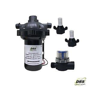 Bomba Elétrica 12V - 18,9 l/min / 60 psi max. - DRS