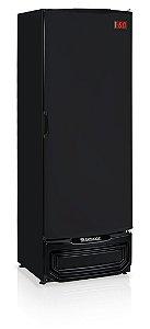 Cervejeira Gelopar GRBA-400/PR Vertical 410L Porta Cega Preta 220V