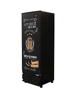 Cervejeira Imbera CCV315 Vertical 459 Litros Porta Cega Adesivada Happy Hour 220V