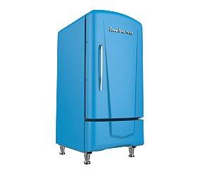 Mini Cervejeira Imbera CCV72 - Vertical 109 Litros - Porta Cega - Retrô - Preta ou Azul - 220V