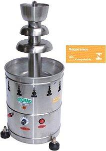 Cascata de Chocolate Automática Ademaq Aço Inox 2 Kg Bivolt