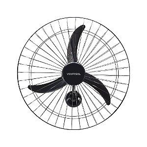 Ventilador de Parede Ventisol Oscilante CH HH Premium 3 Velocidades 60cm Preto 220v