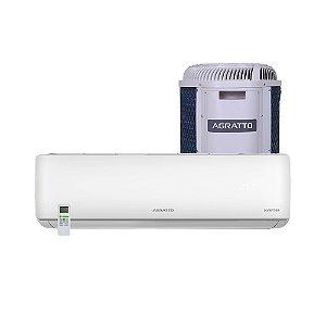 Ar Condicionado Split Agratto Eco Top 9.000 Btus Quente e Frio - 220v