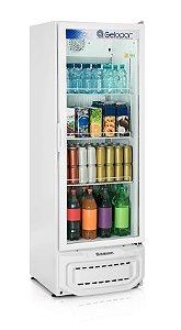Expositor de Bebidas Vertical Gelopar GPTU-40 414L Frost Free Branco 220v