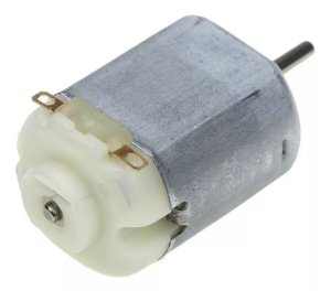 Mini Motor Dc 3v ~ 6v Eixo 2mm Robotica Arduino