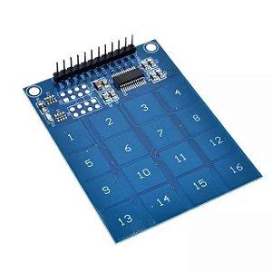 Teclado Touch Capacitivo 16 Teclas Ttp229