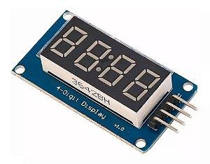 Módulo Display 4 Digitos Tm1637 Relógio