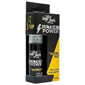ULTRA POWER VIBRADOR LÍQUIDO JATOS BY ELETRIC PLUS 15ML SOFT LOVE
