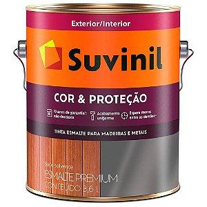Esmalte 3,6L Marrom Tabaco Suvinil