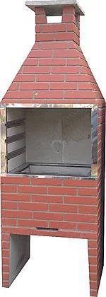 Churrasqueira Concreto 0,55m HD Cerâmica