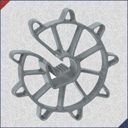 Espaçador PVC S40 40x84 (Aço 4,2 até 12,5mm) Pacote com 1000 Un.