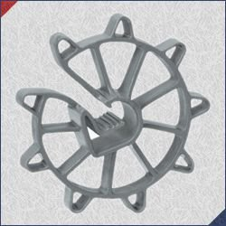 Espaçador PVC S50 50x114 (Aço 4,2 até 12,5mm) Pacote com 1000 Un.