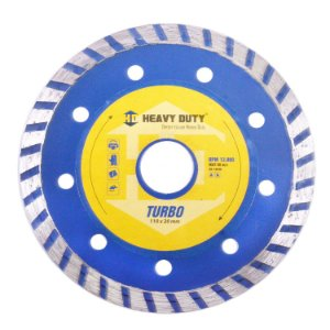 Disco Diamantado Turbo 110mm Heavy Duty