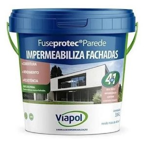 Viapol Viaflex Fuseprotec Parede 3,6L