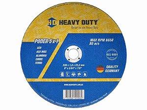 Disco Corte Ferro/Inox 41/2x1.0 Ecoinox Heavy Duty