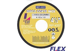 Disco Corte Ferro/Inox 7x1.6 Flex Lotus 4338
