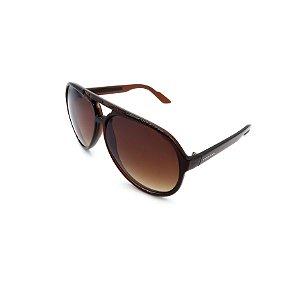 Óculos De Sol Prorider Retrô Marrom com Lente Degradê Marrom - B88-1010