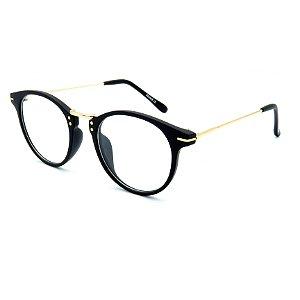 Óculos de grau pronto Prorider Concept Readers preto e dourado - PDUPRCR