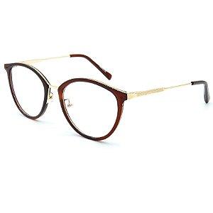 Óculos de grau pronto Prorider Concept Readers Marrom e Dourado -  MRTDPRCR