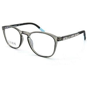 Óculos de grau pronto Prorider Concept Readers Acinza translucido com detalhe em Azul - CIPRCR