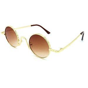 Óculos Solar Prorider Dourado Com lente Degrade marrom - 18601