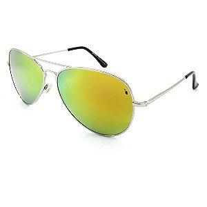 Óculos Solar Prorider Prata Com lente Espelhada - BF552R