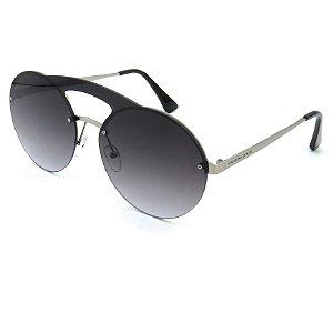 Óculos Solar Prorider Prata Com lente Degrade - J7099
