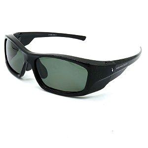Óculos Solar Prorider Preto Retro Com lente fumê - RTR56