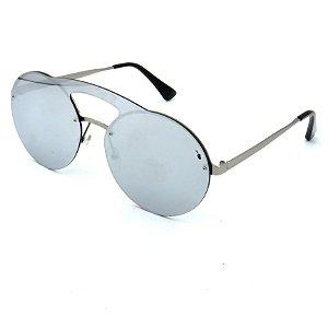 Óculos Solar Prorider Prata com lente espelhada Prata - J7099 C6