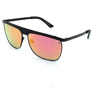 Óculos Solar Prorider Preto com lente espelhada colorida  - P17020