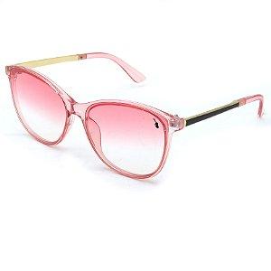 Óculos Solar Prorider Rosa translucido e dourado - FY8109C5